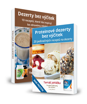 Ebooky Dezerty bez výčitek a Proteinové dezerty